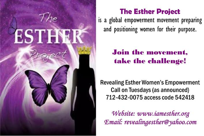 esther, esther project, tiffany williams, women